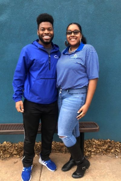 R.J. Walker and Destini Carrington serve as Stars Group Chairs for Stars Week.