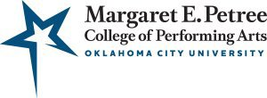 OKCU's Petree College of Performing Arts logo