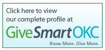 Click here to view our complete profile at GiveSmartOKC