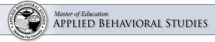 Master of Education in Applied Behavioral Studies