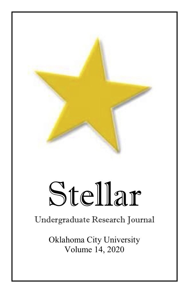 Stellar - Undergraduate Research Journal - Oklahoma City University - Volume 14, 2020