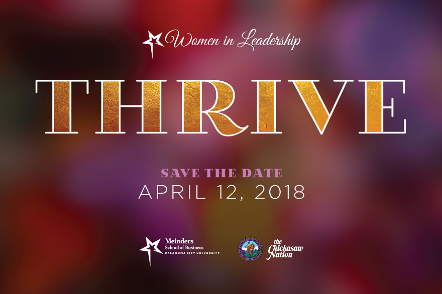Save the Date -  Women in Leadership is April 12, 2018 at Cox Convention Center!