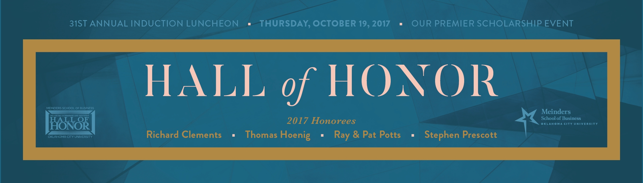 Hall of Honor header bar
