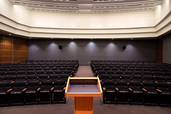 The Kerr-McGee auditorium at OKCU