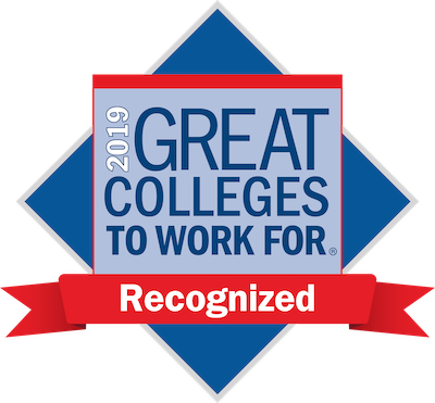 2019 Great Colleges to Work For - Recognized