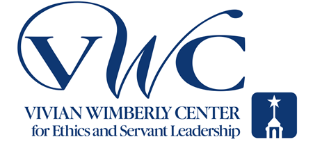 Vivian Wimberly Center for Ethics and Servant Leadership (logo)