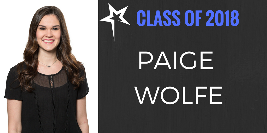 Class of 2018: Paige Wolfe
