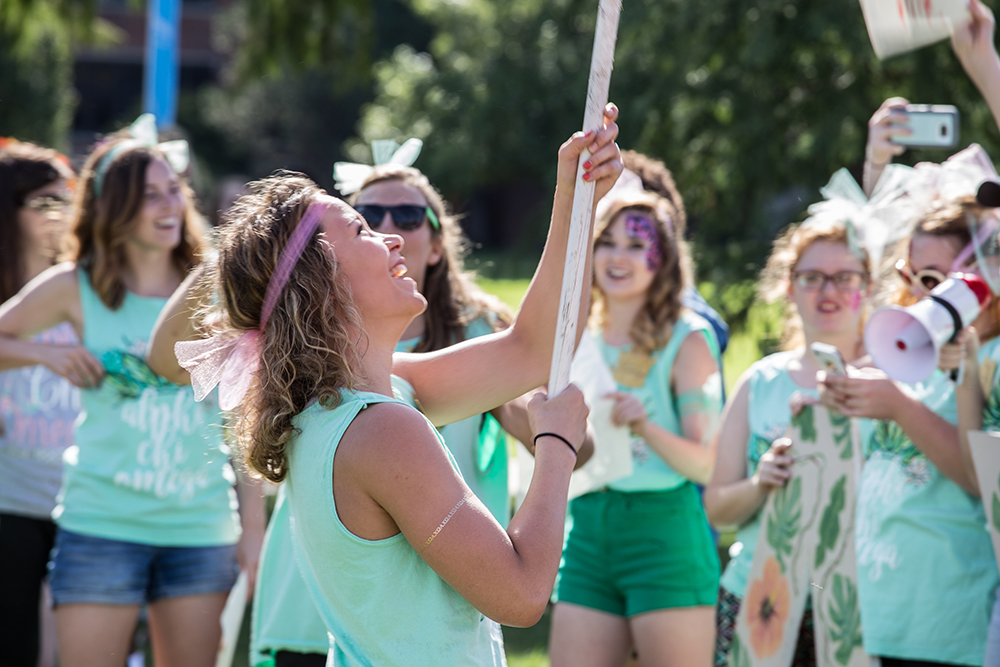 OCU Sorority Bid Day