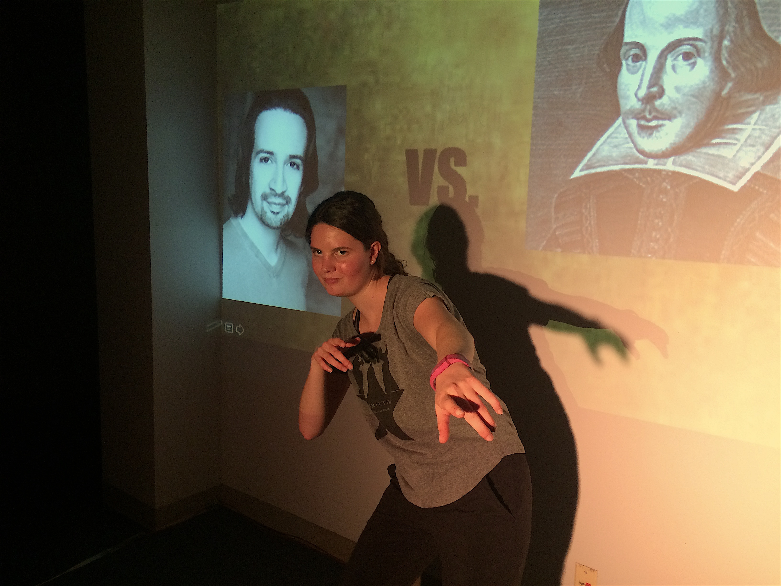 """Lin Manuel Miranda vs Shakespeare"" a twitter battle by Lily Hickey '20"